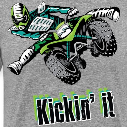 Kickin' Quad Style - Men's Premium T-Shirt