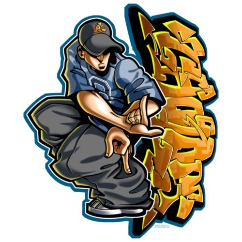 Cholo Hands by RollinLow - Men's Premium T-Shirt