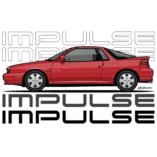 Uzusi Impulse II Red - Men's Premium T-Shirt