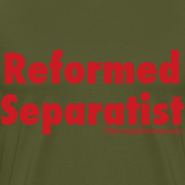 34 Separatist red lettering