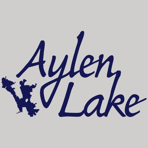 Aylen Lake_white ink - Men's Premium T-Shirt