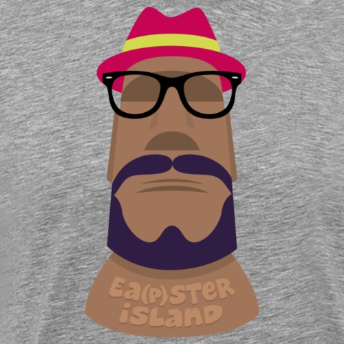 Easter Island, Eapster Island, No one is safe - Men's Premium T-Shirt