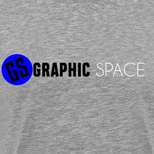 GRAPHIC SPACE Logo 2 - Men's Premium T-Shirt