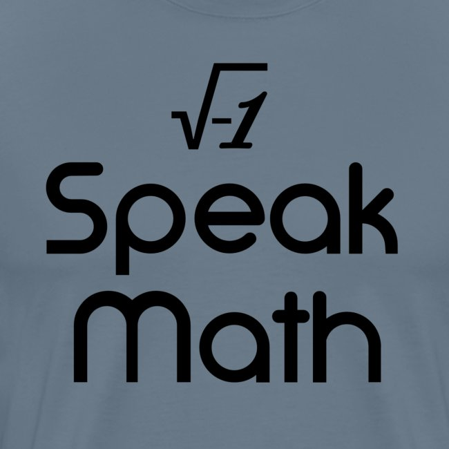 i Speak Math
