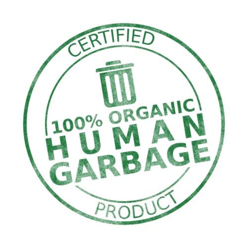 100% Human Garbage - Men's Premium T-Shirt