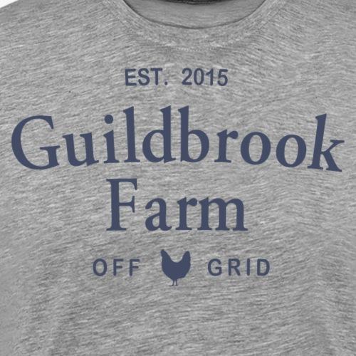 Guildbrook Farm Off Grid Hen - Men's Premium T-Shirt
