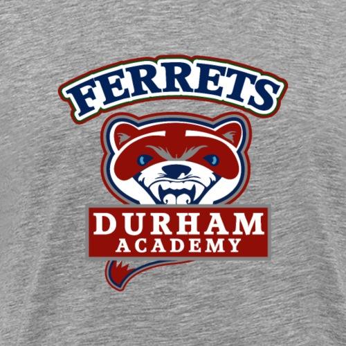 durham academy ferrets sport logo - Men's Premium T-Shirt