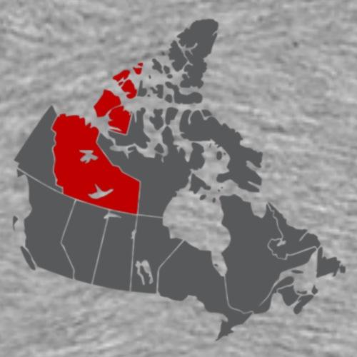 northwest map - Men's Premium T-Shirt