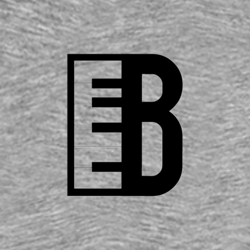 Blute Prod Logo (Black) - Men's Premium T-Shirt