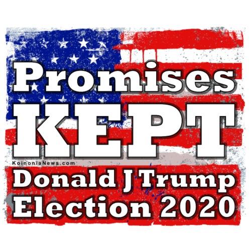 Promises Kept TRUMP 2020 - Men's Premium T-Shirt