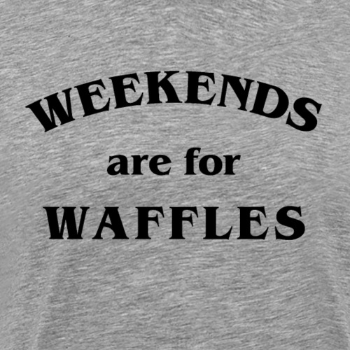 Waffles - Men's Premium T-Shirt