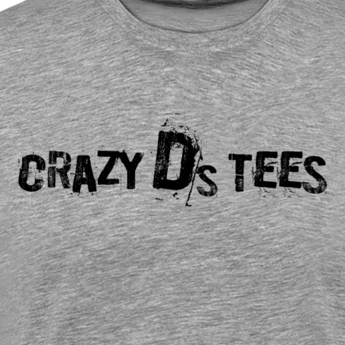 Crazy D's logo - Men's Premium T-Shirt