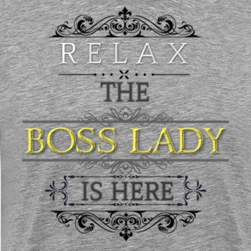 Boss Lady - Men's Premium T-Shirt