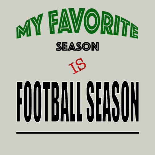 My Favorite Season Is Football Season - Men's Premium T-Shirt