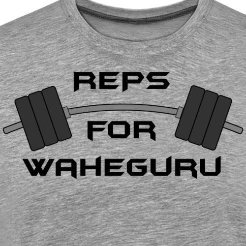 REPS FOR WAHEGURU - Men's Premium T-Shirt