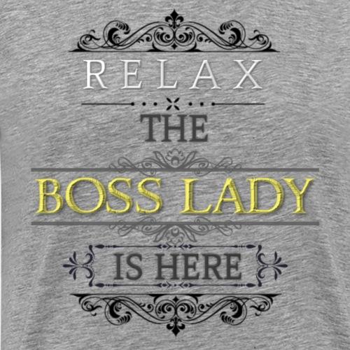 Boss Lady - Men's Premium T-Shirt