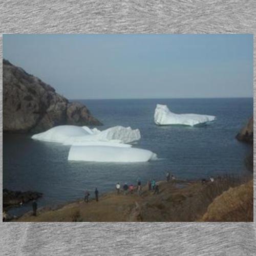 Quidi Vidi Icebergs - Men's Premium T-Shirt