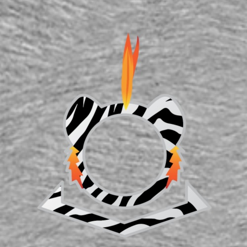White Tiger Logo - Men's Premium T-Shirt