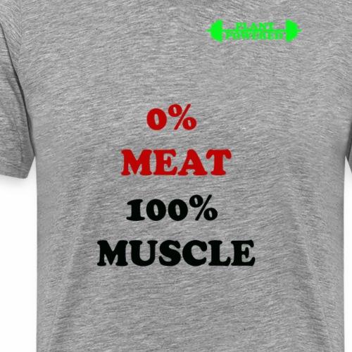 NO MEAT - Men's Premium T-Shirt