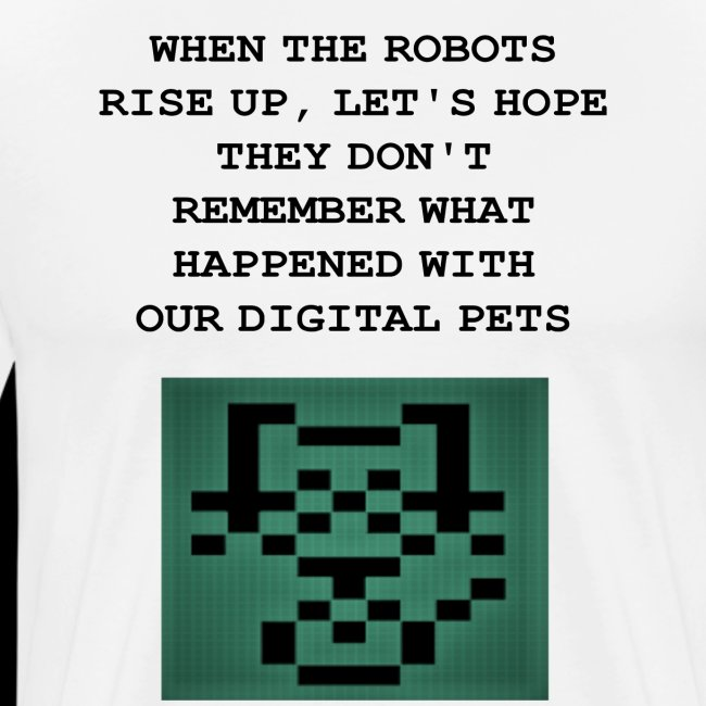 Funny Digital Pet Graphic