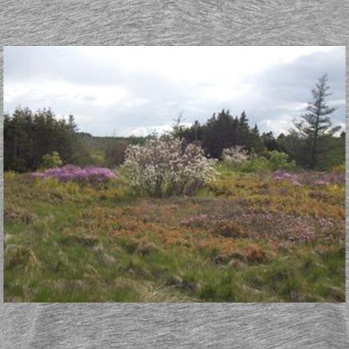 Newfoundland Wild Flowers - Men's Premium T-Shirt