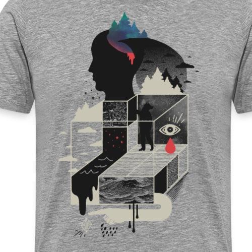 Lucid Screaming - Men's Premium T-Shirt