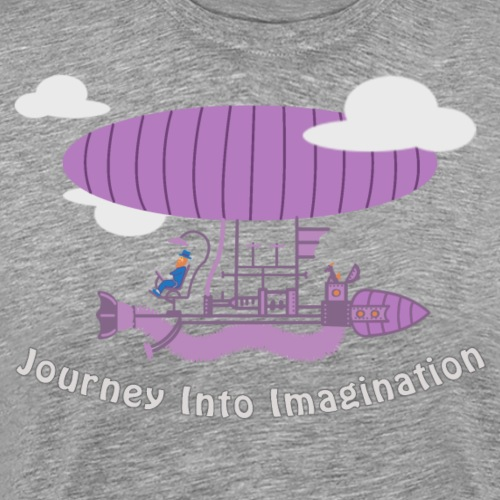 Airship of Dreams - Men's Premium T-Shirt