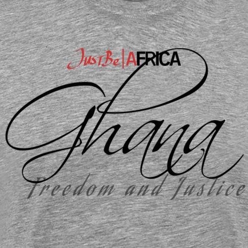 Ghana Sleek - Light - Men's Premium T-Shirt