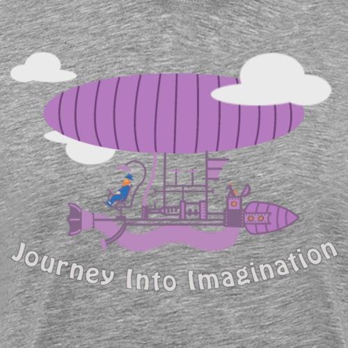 Airship of Dreams - Men's Premium T-Shirt