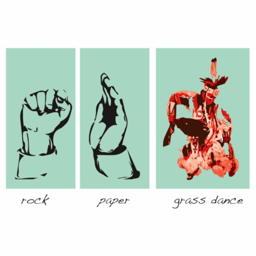 rockpapergrass - Men's Premium T-Shirt