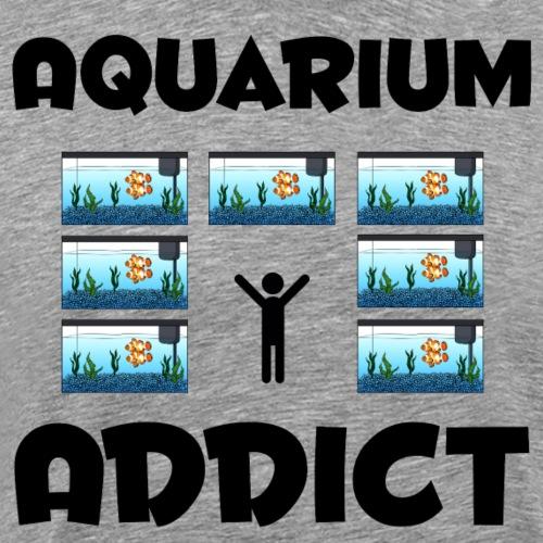 Aquarium Addict - Men's Premium T-Shirt