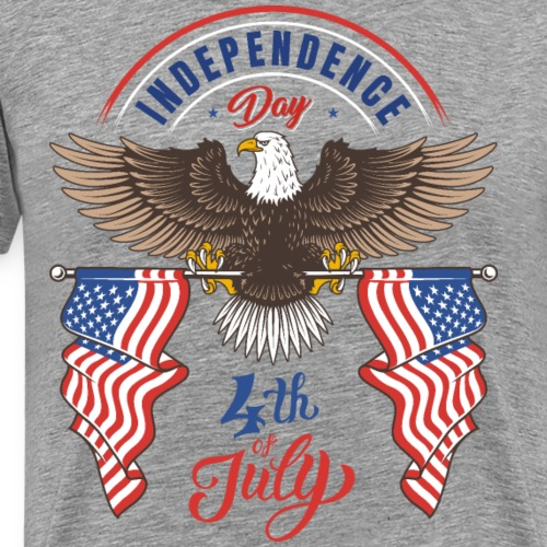 independence day 4 july - Men's Premium T-Shirt