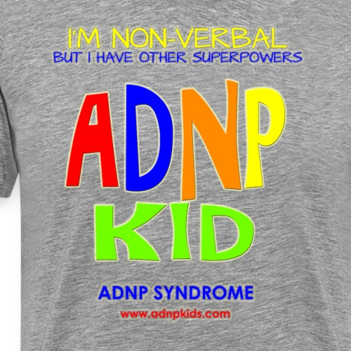 ADNP Kid Shirt Non VerBAL - Men's Premium T-Shirt