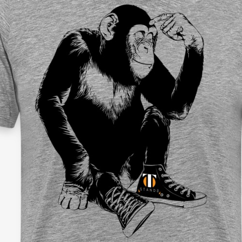 simpanse light - Men's Premium T-Shirt