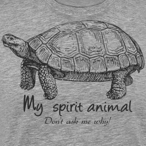 tortoise Spirit Animal - Men's Premium T-Shirt