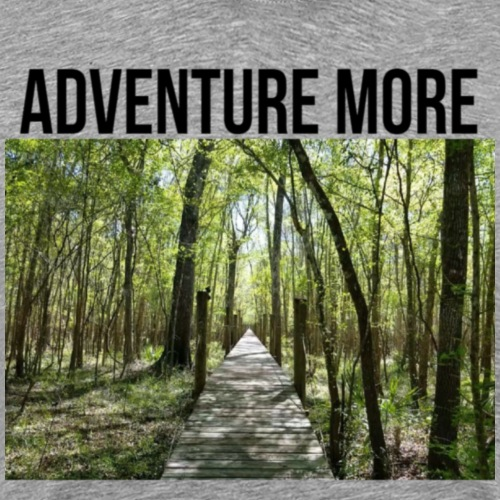 adventure more - Men's Premium T-Shirt