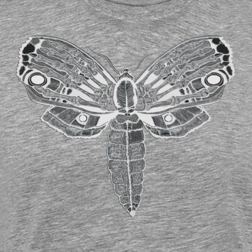 MOTH print white - Men's Premium T-Shirt