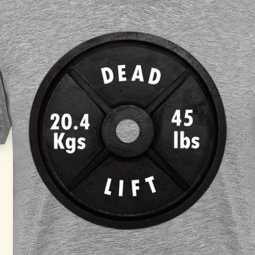 PLATE WEIGHT - Men's Premium T-Shirt