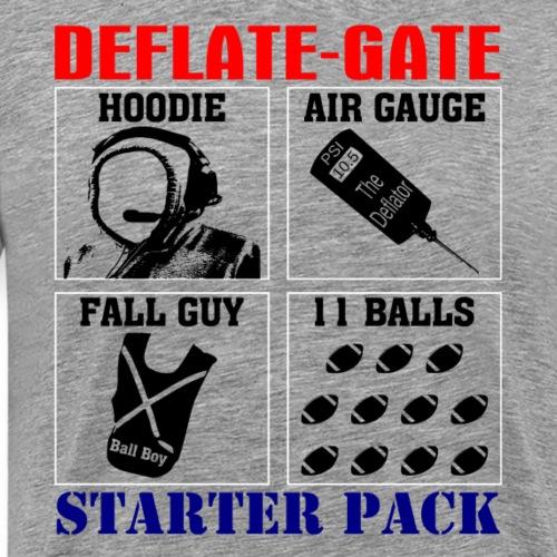 Deflategate Starter Pack T-Shirts Hoodies - Men's Premium T-Shirt