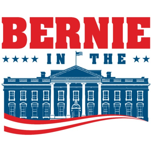Bernie in the House! - Men's Premium T-Shirt