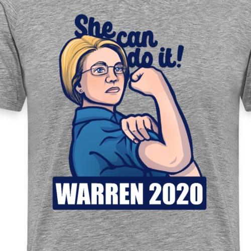 Elizabeth Warren 2020 - Men's Premium T-Shirt