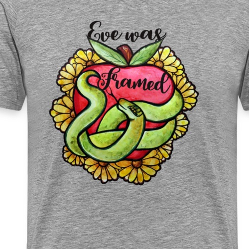 eve was framed - Men's Premium T-Shirt