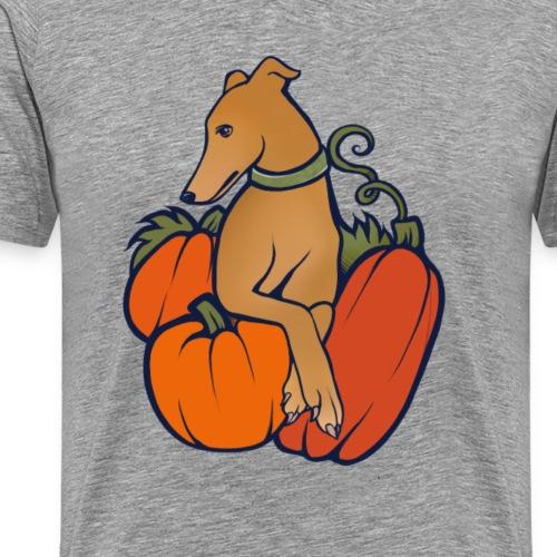 halloween greyhound - Men's Premium T-Shirt