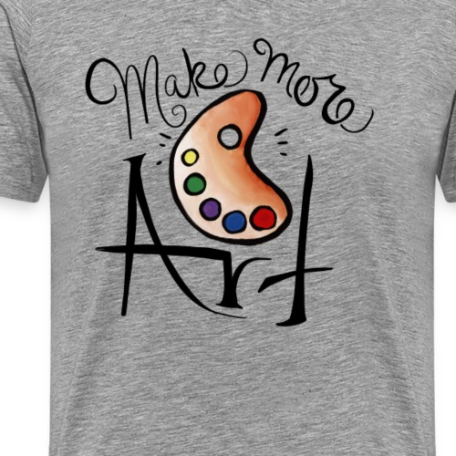 make more art - Men's Premium T-Shirt