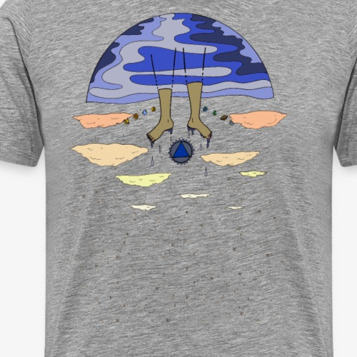 Space Swimmer - Men's Premium T-Shirt