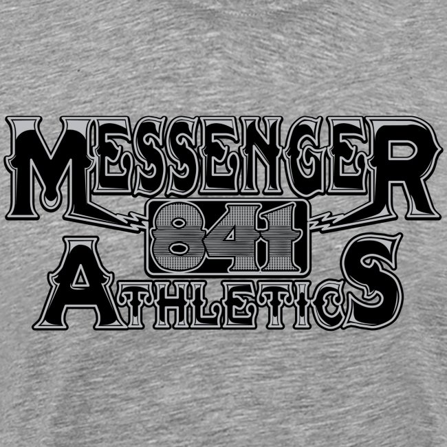 Messenger 841 Athletics Logo Tee