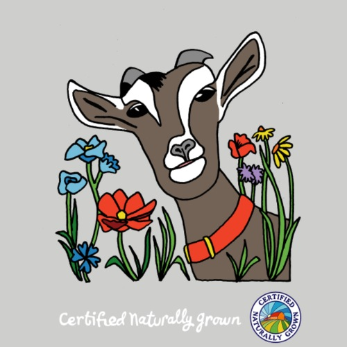 Certified Naturally Grown Goat Shirt - Men's Premium T-Shirt