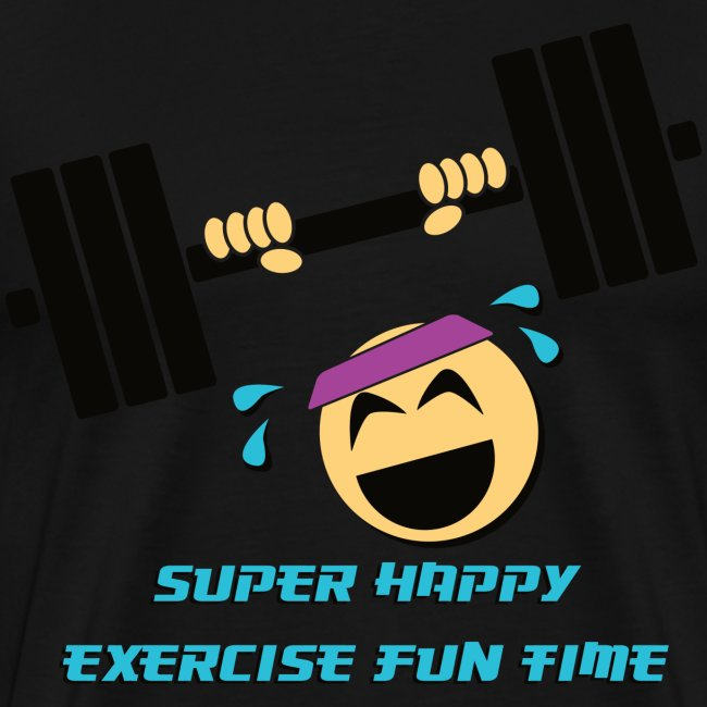 Super happy exercise fun time!