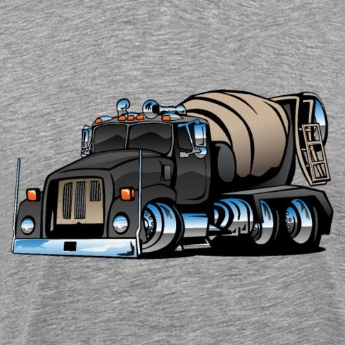Cement Mixer Truck - Men's Premium T-Shirt