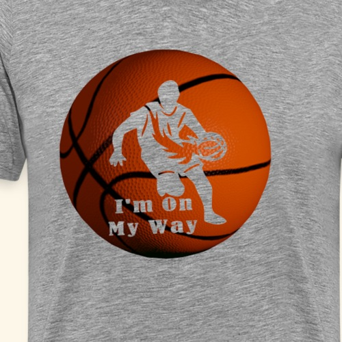 Basketball Player Pro In The Making! - Men's Premium T-Shirt